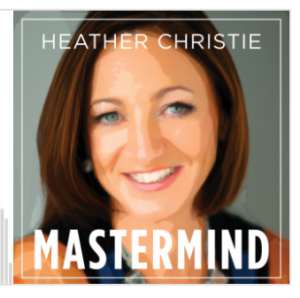 Logo of Heather Christie Mastermind Podcast