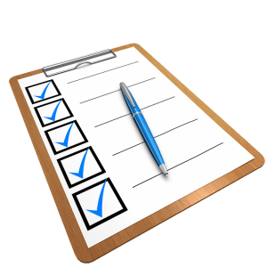 checklist is effective to show lists