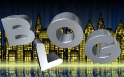 word blog against buildings